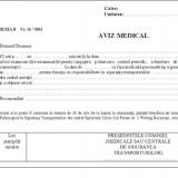 Aviz medical cabinet psihologic A5