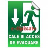Cale si acces de evacuare - Jos