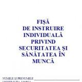 0,59 Lei/ buc - PACHET 500 Fise SSM ( Fise de instruire individuala privind securitatea si sanatatea in munca ) + CADOU 1 PIX SCHNEIDER K15