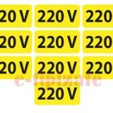 Etichete prize 220V - set 10 buc autoadezive