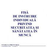 0,50 RON / BUC IN PACHET PROMOTIONAL 1000  Fise SSM ( Fise de instruire individuala privind securitatea si sanatatea in munca )