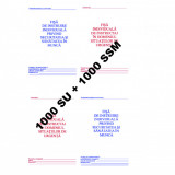 0,54 Lei / buc - PACHET 1000 Fise SU + 1000 Fise SSM + CADOU 1 PIX SCHNEIDER K15
