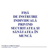 0,57 Lei/ buc - PACHET 1000 Fise SSM ( Fise de instruire individuala privind securitatea si sanatatea in munca ) +CADOU 1 PIX SCHNEIDER K15