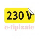 Etichete prize 230V - set 10 buc autoadezive