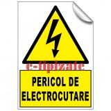 Pericol de electrocutare