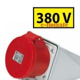 Indicator 380 V  - 1 set de 10 etichete autoadezive prize - 40 x 20 mm