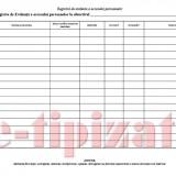 Registru Acces Persoane - 25 file