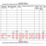 Registru Special Evidenta Contracte, pentru Societatile specializate de Paza si Protectie - 100 file