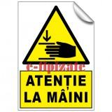 Atenție la mâini