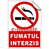 Indicatoare Fumatul interzis