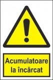 """Indicator """"Acumulatoare la incarcat"""" A4"""