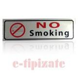Indicator autoadeziv No smoking
