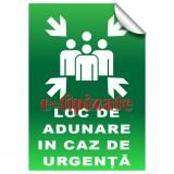 Loc de adunare in caz de urgență