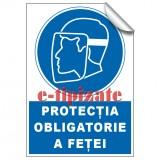 Protecția obligatorie a feței