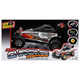 Poze Jucarie baieti New Bright Masinuta Chrome Lightning 1:16 Radio Control Buggy