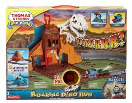 Jucarie baieti Trenuletul Thomas si prietenii Roaring Dino