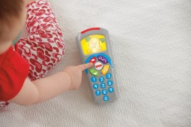 Jucarie bebelusi telecomanda Fisher Price