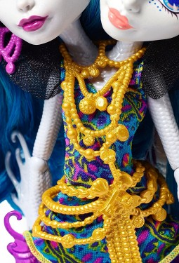 Poze Jucarie fetite papusa Monster High Great Scarrier Reef Peri And Pearl Serpentine Mattel