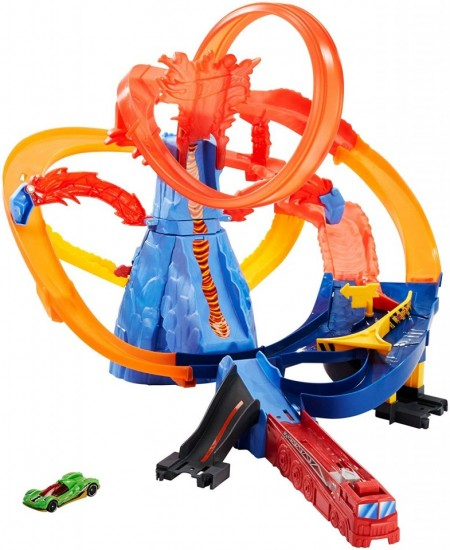Jucarie Pista Hot Wheels Volcano