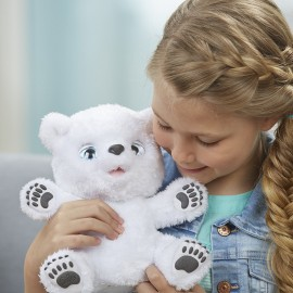 Poze Ursulet polar interactiv Snifflin Sawyer FurReal Hasbro - Black Friday