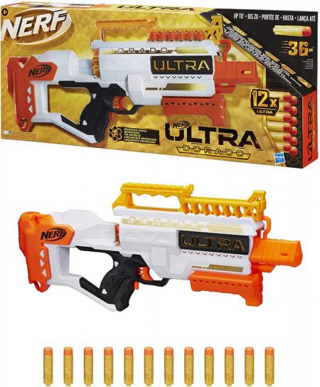 Blaster Nerf Ultra Dorado