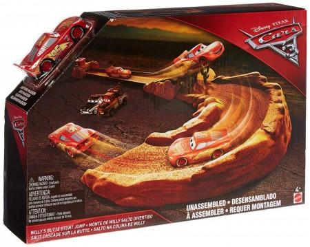 Jucarie baieti Set Masinuta Lightning McQueen cu Lansator