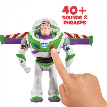 Figurina Toy Story 4 Buzz Lightyear merge si vorbeste