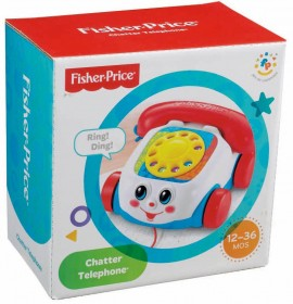 Jucarie bebelusi telefon cu fir Fisher Price