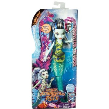 Jucarii fetite papusa monster high frankie stein great scarrier reef