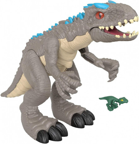 Figurina Imaginext Jurassic World Thrashing Indominus Rex