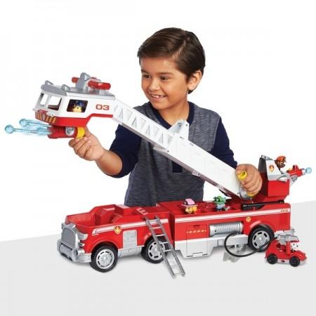 Jucarie baieti Patrula Catelusilor Ultimate Fire Truck
