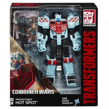 Poze Jucarie baieti Transformers Combiner Wars Voyager Class Protectobot Hot Spot