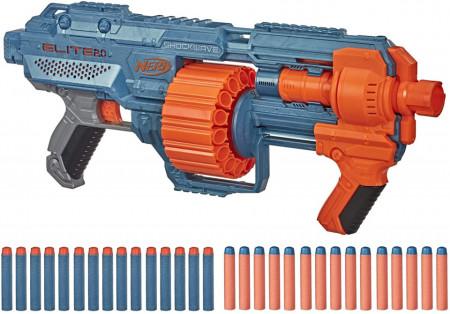 Jucarie baieti blaster Nerf Elite 2.0 Shockwave