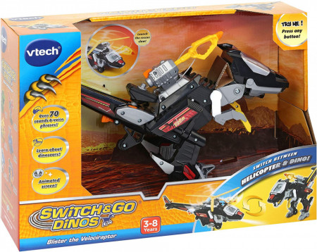Jucarie interactiva Vtech dino - elicopter switch and go