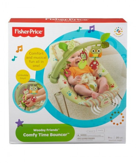 Balansoar Comfy Time Bouncer Fisher Price