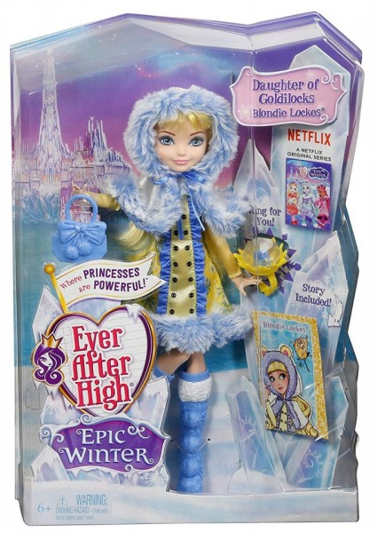 Jucarie fetite papusa Ever After High Blondie Lockes
