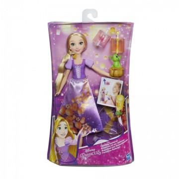 Jucarie fetite papusa Rapunzel cu lampion