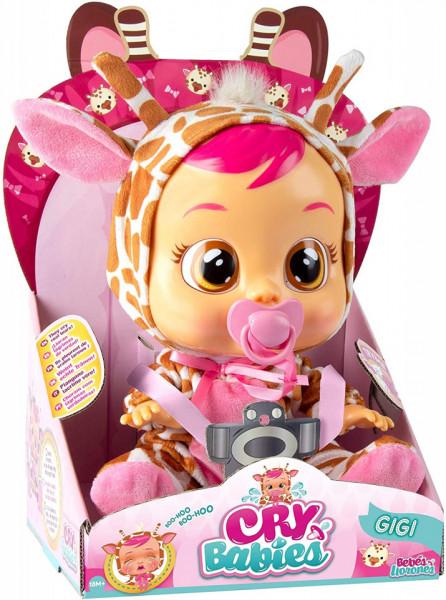 Papusa IMC Cry Babies, Bebe Plangacios Gigi