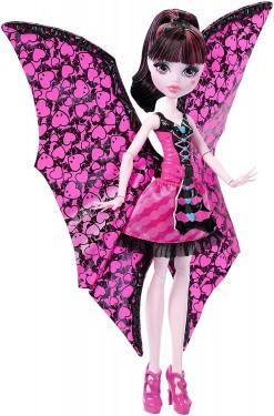 Papusa Monster High Draculaura transformarea liliac