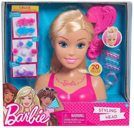 Set Barbie Cap de papusa pentru Coafat