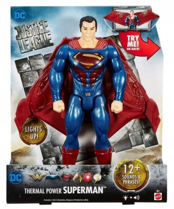 Jucarie baieti Thermal Power Superman interactiv