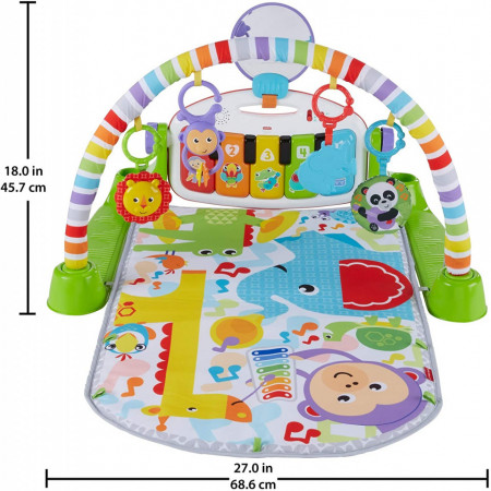Jucarie bebelusi centru activitati Piano Gym Fisher Price