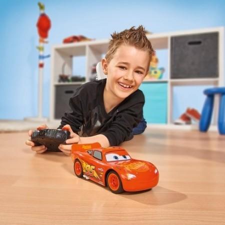 Jucarie baieti Cars 3 Lightnin McQueen masinuta cu telecomanda