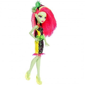 Poze Papusa Monster High Electrified Venus Mattel