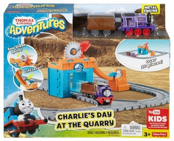 Jucarie baieti Thomas si prietenii circuit Charlie in mina Fisher Price