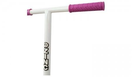Trotineta freestyle incepatori Zinc Detour roz