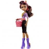Jucarie fetite papusa Monster High Shriek Clawdeen Wolf