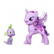 Jucarie my little pony printesa Twilight si dragonul Spike