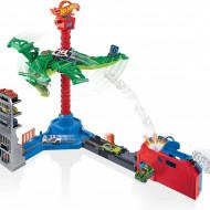 Set de joaca Hot Wheels Atacul dragonului