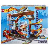 Jucarie baieti Hot Wheels Mega Garage